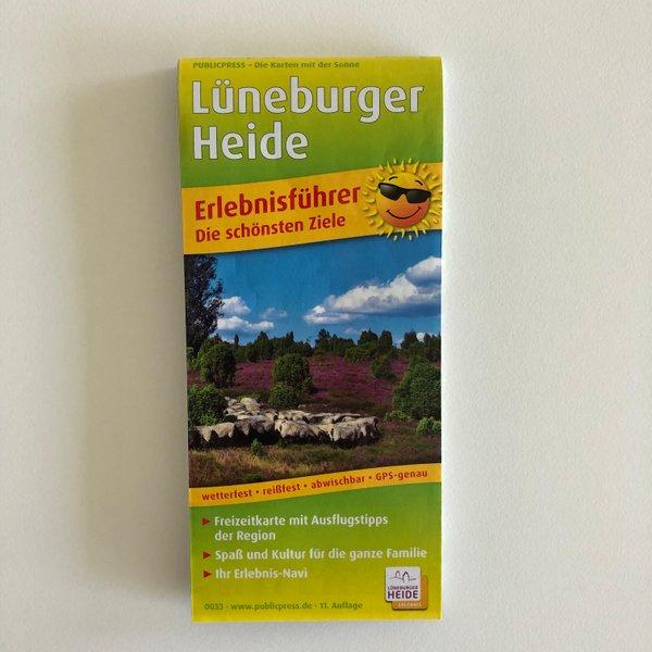 """Erlebnisführer Lüneburger Heide """"Die schönsten Ziele"""""""
