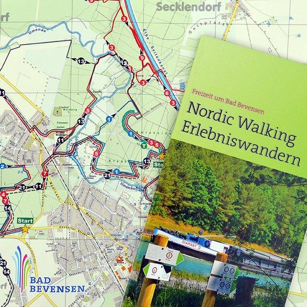 Nordic Walking Erlebniswanderkarte