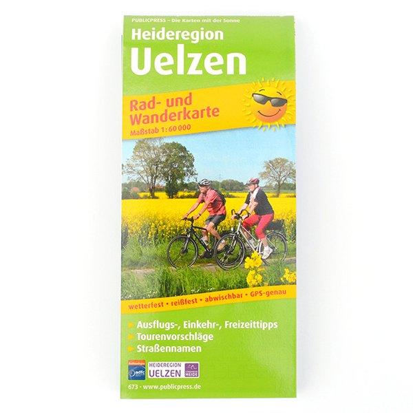 Rad- und Wanderkarte der Heideregion Uelzen
