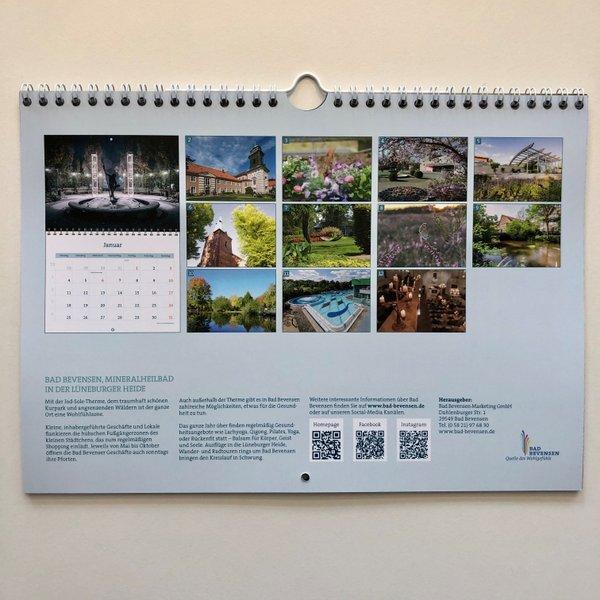 Bad Bevensen Wandkalender 2021 (A4)